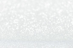 Defocused abstract silver lights background Royalty Free Stock Photos