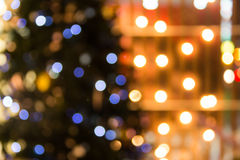Defocused abstract texture bokeh background Stock Photography