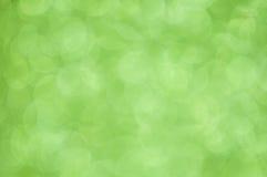 Defocused abstrakcjonistyczny zielonego ?wiat?a t?o Fotografia Royalty Free
