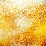 Defocused abstrakt guld- 10 eps Royaltyfri Bild