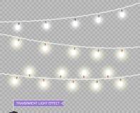 Defocused abstrakt julbakgrund Glödande ljus för vektorXmas Girlander som ska dekoreras, shoppar affischer, baner, feriekort för  royaltyfri illustrationer