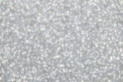 Defocused abstrakt silver tänder bakgrund Royaltyfria Foton