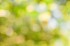 Defocused abstrakt zieleni tło fotografia stock