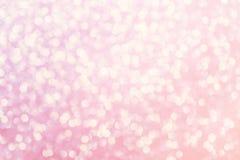 Defocused abstrakter Hintergrund volle Farblichter bokeh Funkelns Stockfotografie
