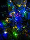 Defocused abstrakter Weihnachtshintergrund stockbild