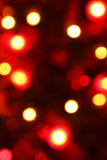 Defocused abstrakter Weihnachtshintergrund Stockfoto