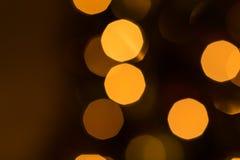 Defocused abstrakter Weihnachtshintergrund Stockfotos