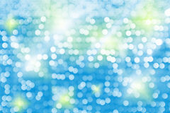 Defocused, abstraktes Hintergrundfarblicht bokeh kreist ein Lizenzfreies Stockbild