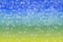 Defocused, abstraktes Hintergrundfarblicht bokeh kreist ein Lizenzfreie Stockbilder