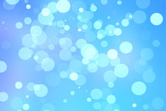 Defocused Background. Bokeh Lights brush with blue background Royalty Free Stock Image