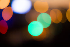 Defocused Background. Colorful bokehs view Stock Photos