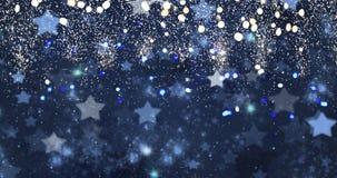 Defocused bakgrund för julljus royaltyfri illustrationer