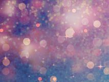 Defocused beidge lights. glitter. EPS 10 Royalty Free Stock Photography