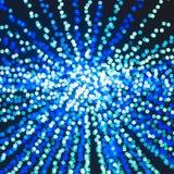 Defocused Blue Boke Bokeh Background Effect Stock Photo