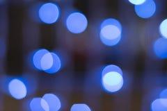 Defocused blue light background Stock Photos