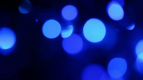Defocused blue lights, motion background Stock Photos