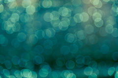 Defocused blur bokeh of green light abstract background Royalty Free Stock Photo