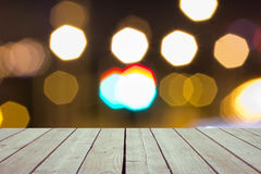 Defocused and blur image of terrace Stock Photography