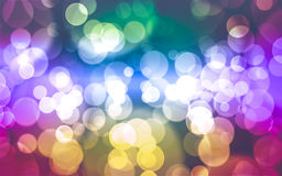 Defocused bokeh. Abstract background with bokeh for Christmas ba Royalty Free Stock Photography