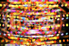 Defocused bokeh colorful lights background.  Royalty Free Stock Image