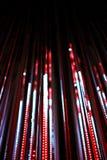 Defocused bokeh graphic of lights line Royalty Free Stock Image