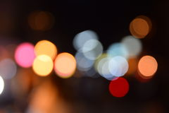 Defocused Bokeh holidays lights background. Abstract twinkle bright background Stock Photo