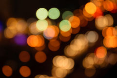 Defocused bokeh lights Stock Image