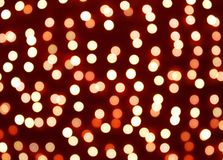Defocused bokeh lights background Royalty Free Stock Image