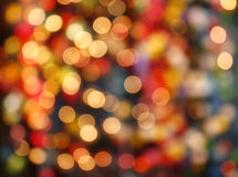 Defocused bokeh lights background Royalty Free Stock Photo