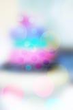 Defocused bokeh lights. Background blur Stock Photos