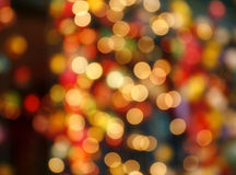 Defocused bokeh lights background Stock Image