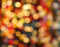 Defocused bokeh lights background Royalty Free Stock Photography