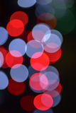 Defocused bokeh lights Royalty Free Stock Photography