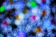 Defocused bokeh lights stock photography
