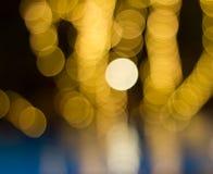defocused bokehljus Fotografering för Bildbyråer