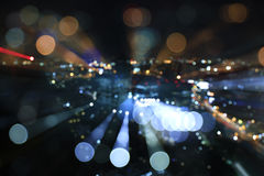 Defocused bokehljus från Iyarin Tuk Chang Royaltyfria Foton