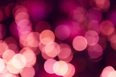 Defocused christmas bokeh light for background Royalty Free Stock Photography
