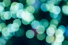 Defocused christmas bokeh light for background Stock Images