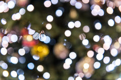 Defocused christmas glitter royalty free stock images