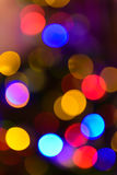 Defocused christmas light background Stock Image