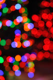 Defocused Christmas Lights. Colorful Defocused Christmas Lights for a Background Stock Photography