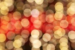 Defocused Christmas lights. Background of defocused Christmas lights Royalty Free Stock Photography