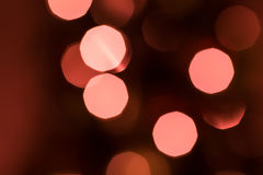 Defocused Christmas Lights Stock Images