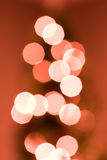 Defocused Christmas Lights Stock Photos