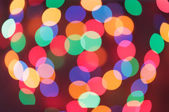 Defocused christmas lights. Natural defocused christmas lights, good for background Royalty Free Stock Photos