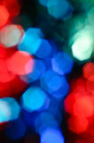 Defocused color blurs Stock Image