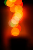 Defocused colored circular lights Stock Images