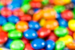 Defocused Colorful Candy Sweets Royalty Free Stock Photos