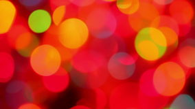 Defocused colorful lights background Royalty Free Stock Photography