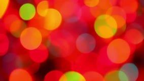 Defocused colorful lights background stock video